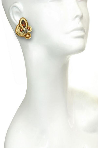 Claudia Clip On Earrings