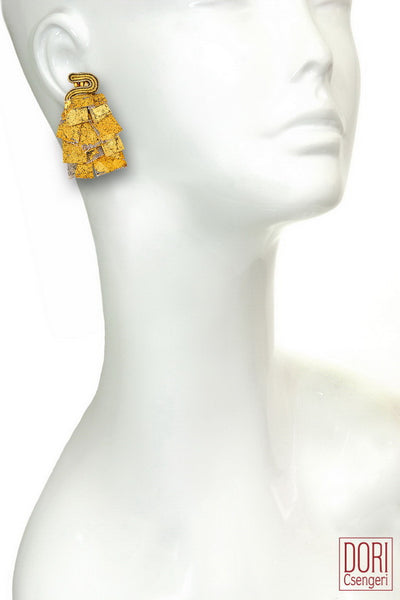 Camelot Clip On Earrings