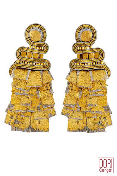 Camelot Gold Earrings