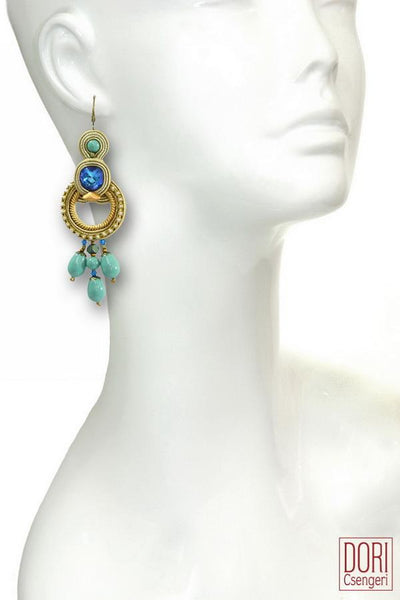 Casablanca Elegant Hoop Earrings