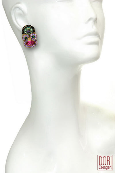 Delilah Clip On Earrings