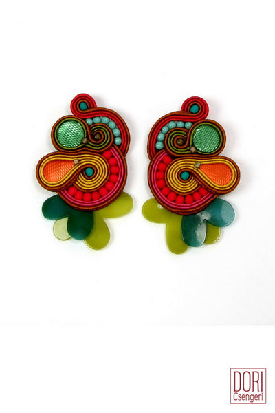 Delirio Clip On Earrings