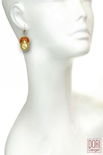 Elizabeth Casual Gold Earrings