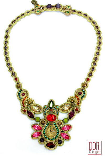 Maharajah Jewel Tones Necklace