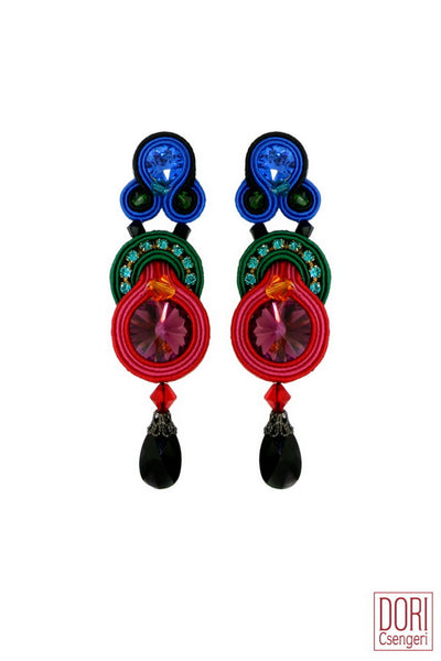 Fantasie Jewel Tones Earrings