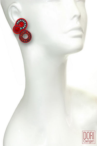 Fandango Clip On Earrings