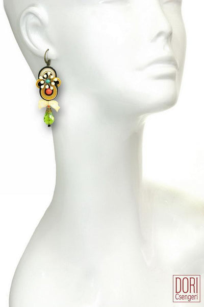 Fiori Bow Earrings