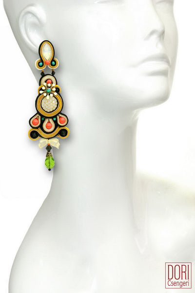 Fiori Statement Earrings