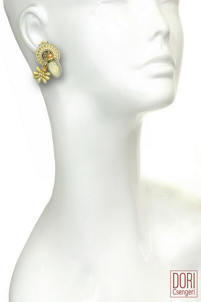 Fairy Dust Clip On Earrings