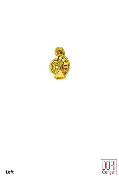 GoGo Gold Earrings - Single Earring
