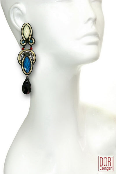 Hedone Blue Earrings