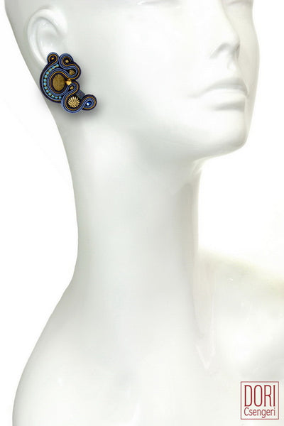 Ishtar Clip On Earrings