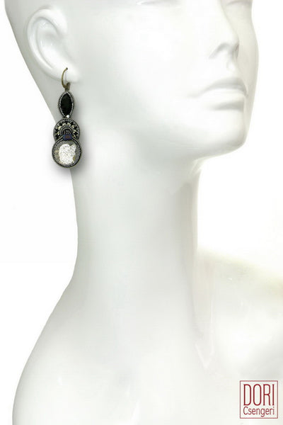 Lady Dragon Dangle Earrings