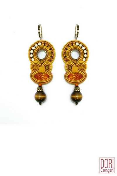 Lucia Yellow Earrings
