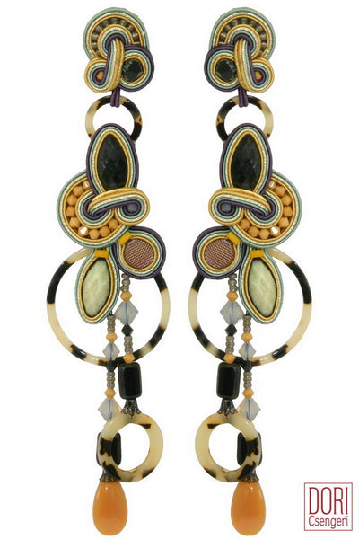 Mambo Shoulder Duster Earrings