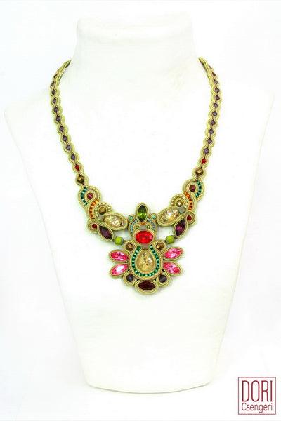 Maharajah Elegant Jewel Tone Necklace