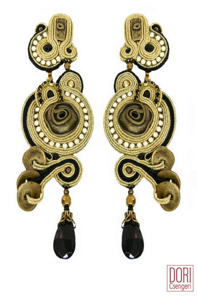 Nefertiti, Statement Earrings