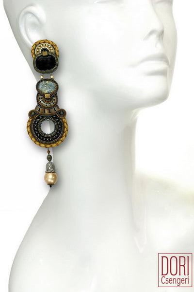 Opera Statement Earrings