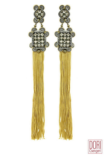 Paris Tassel Earrings