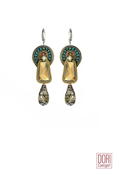 Paris Art Deco Earrings