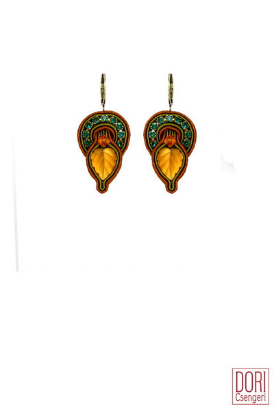 Roberta Leaf Earrings