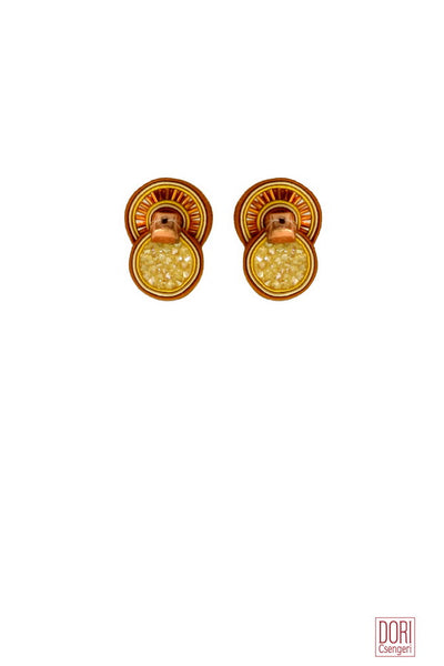 Samba Clip On Earrings
