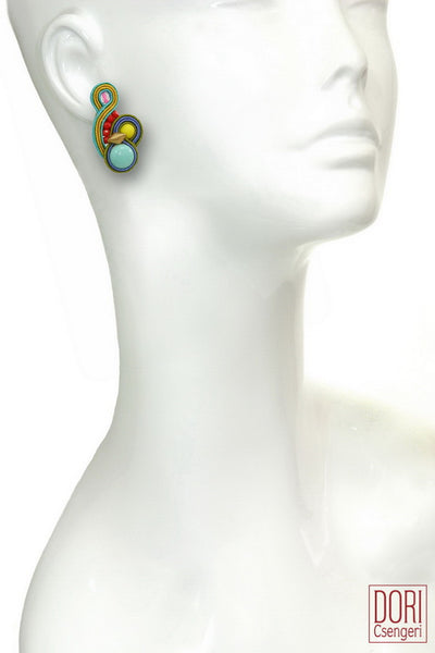 Soleil Clip On Earrings