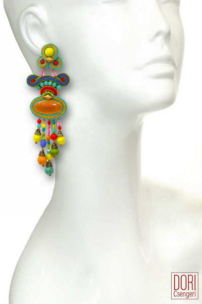 Soleil Statement Earrings