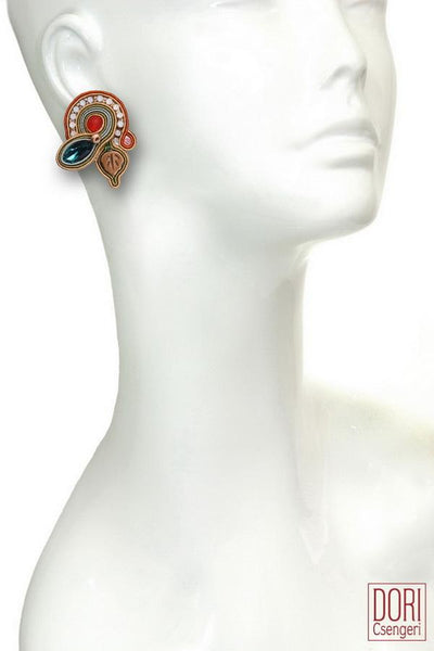 Touch Unique Clip on Earrings
