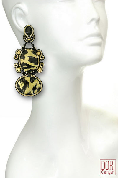 Zafirah Leopard Earrings