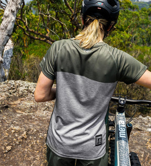 DHaRCO - Ladies SS Jersey | Camo Storm