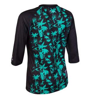 DHaRCO - Ladies 3/4 Sleeve Jersey | Aqua Party