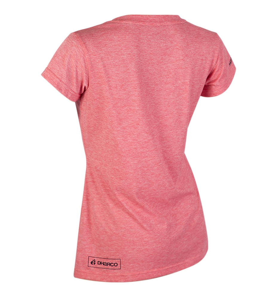 DHaRCO -  Ladies Tech Tee | Pink Marle