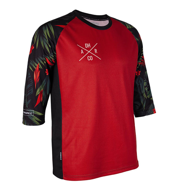 DHaRCO -  Mens 3/4 Sleeve Jersey | Fast Tropical