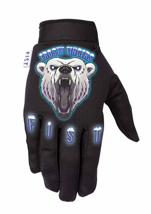 Fist Gloves - Frosty Fingers - Polar Bear