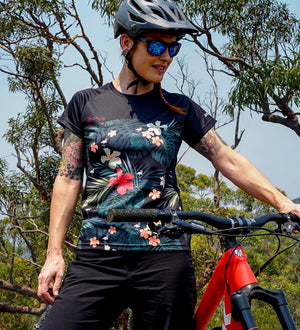 DHaRCO - Ladies SS Jersey | Hawaiian