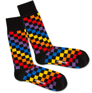 DillySocks - Rainbow Chess
