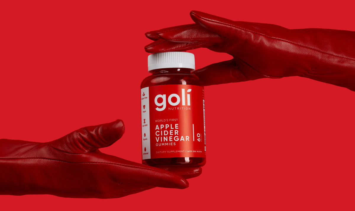 Goli bottle header banner