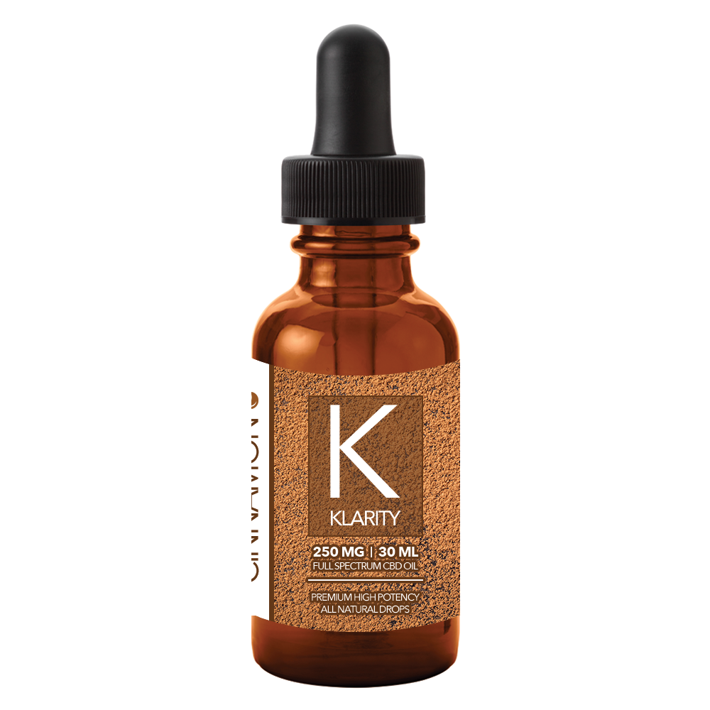 CBD Oil 250mg 30ml Full Spectrum (Cinnamon)