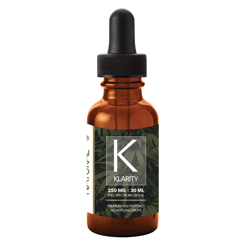CBD Oil 250mg 30ml Full Spectrum (Natural Flavor)