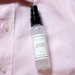 Crease release spray the laundress