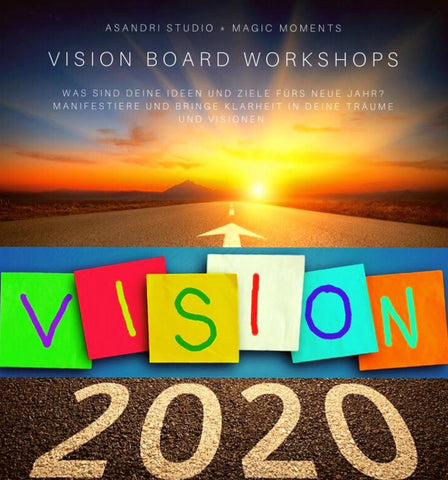 Workshop, Visionboard, 2020