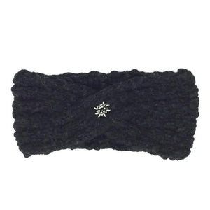 Hangestricktes Stirnband, Made in Switzerland, Headbang