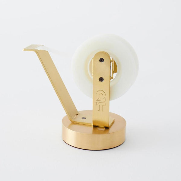 2THICKNESS_Tape_Dispenser_Brass_Design_handcrafted_in_South-Korea
