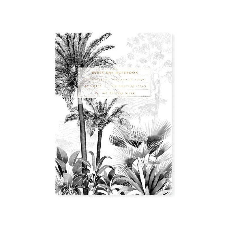ALL THE WAYS TO SAY Black Forest A5 Notizbuch, Made in France Homeoffice Gift