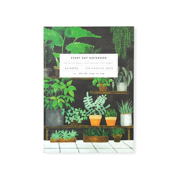 ALL THE WAYS TO SAY PLANTSHOP A5 Notizbuch Made in France Homeoffice Gift