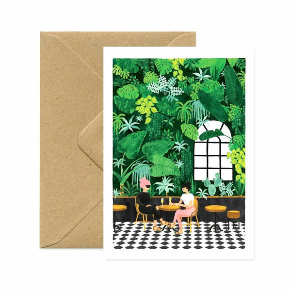 ALLTHEWAYSTOSAY, CAFE, Greeting Card, Karte, Made in France
