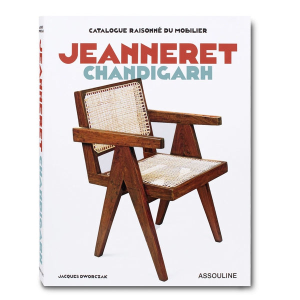 ASSOULINE Book Jeanneret Chandigarh Catalogue Raisonné du Mobilier