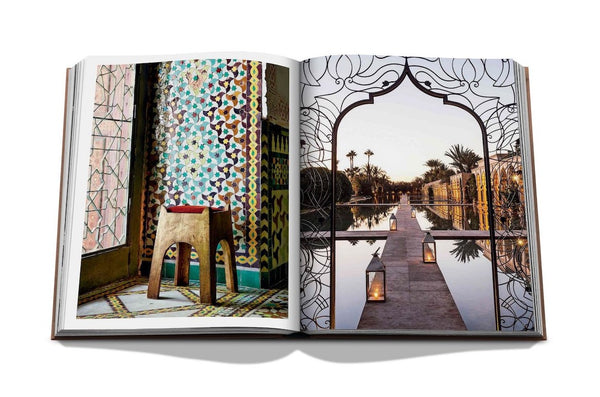 MARRAKECH FLAIR Marisa Berenson Assouline Book Buch Gift idea Travel