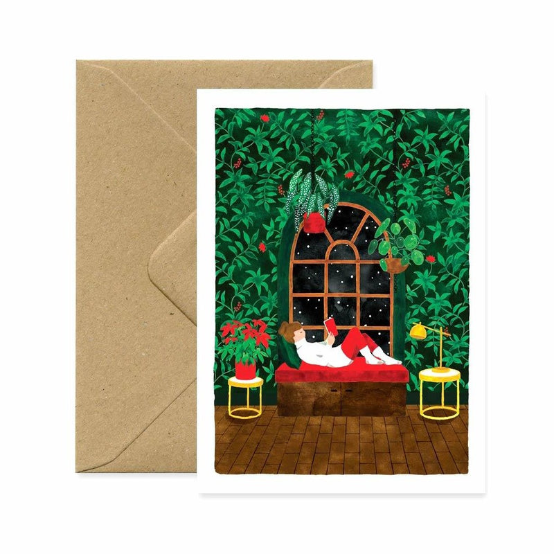 ALLTHEWAYSTOSAY COZY WINTER TIME Xmas Greeting Cards Made in France